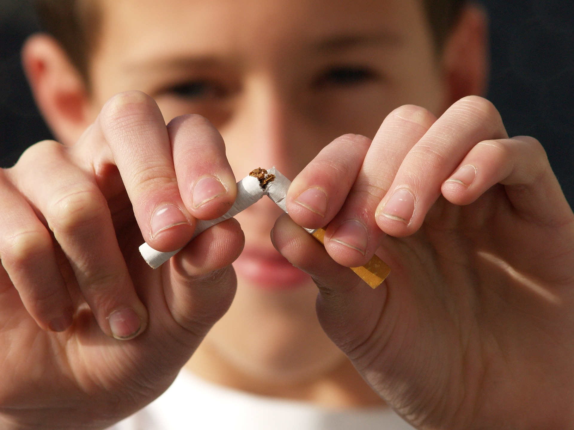 Die letzte Zigarette dank ganzheitlicher Rauchentwöhnung